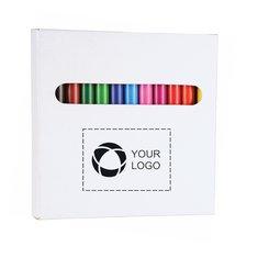 Bullet 12-Piece Colored Pencil Set
