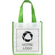 Petit sac fourre-tout non tissé bicolore Shopping de Bullet™