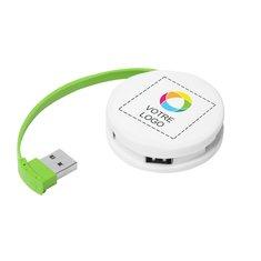 Concentrateur USB Round de Bullet™