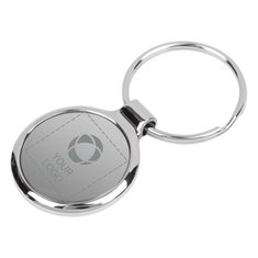 Bullet™ Round Key Chain Laser Engraved