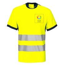 Camiseta conforme a la norma EN ISO 20471 clase 2 de Projob