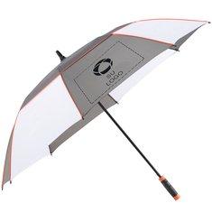 """Sombrilla de golf jaspeada con mecanismo automático de 60"""" de Stromberg®"""