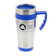 Seaside 15-Ounce Travel Mug