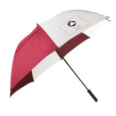 62-Inch Course Vented Golf Umbrella