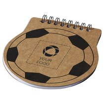 Libreta con forma de balón Score Football de Bullet™