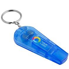 Spica fluitje en sleutelhangerlampje met full-colour drukwerk