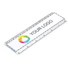 Liniaal van 15 cm met inzet in full-colour