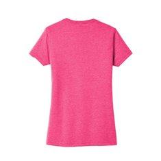 Camiseta District Made® Very Important Tee® de mujer con impresión en el pecho izquierdo y en la espalda