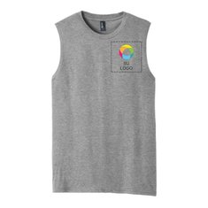 District® V.I.T.™ Muscle Tank with Left Chest Print