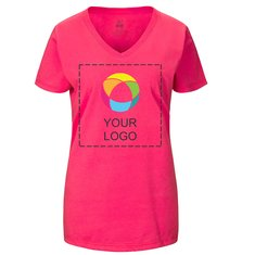 Fruit of the Loom® Ladies' Heavy Cotton HD™ V-Neck T-Shirt