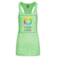 Next Level™ Ladies' Racerback Burnout Tank Top