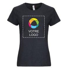 T-shirt femme manches courtes poids moyen Anvil