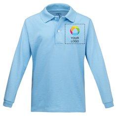 JERZEES® SpotShield™ Youth Long Sleeve Jersey Sport Shirt