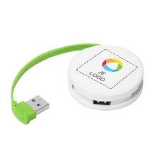 Bullet™ Ronde USB-hub
