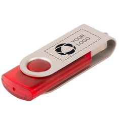 Rotate Translucent USB 4 GB