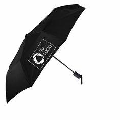 """Paraguas automático con correa jaspeada Stromberg de 42"""""""