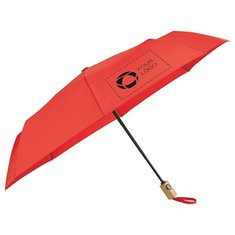 "Stromberg® 42"" Recycled PET Auto Open/Close Folding Umbrella"
