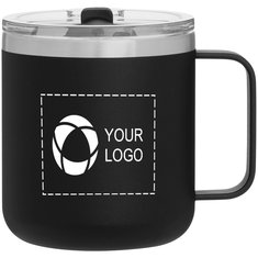 12 oz Camper Stainless Steel Thermal Mug