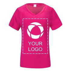 Sport-Tek® Ladies PosiCharge® Competitor™ V-Neck Tee Screenprint