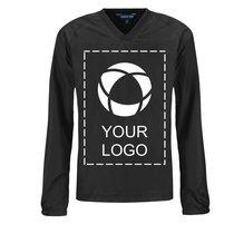Sport-Tek®Youth V-Neck Raglan Wind Shirt Screenprint