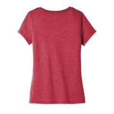 District® Women's Very Important Tee® V-Neck with Left Chest and Back Print