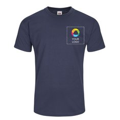 Fruit of the Loom® Valueweight T-shirt with Left Chest Ink Print