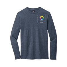 District® Very Important Tee® Long Sleeve with Left Chest and Back Print
