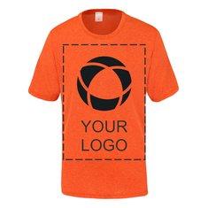 Camiseta juvenil Contender™ jaspeada de Sport-Tek® para serigrafía