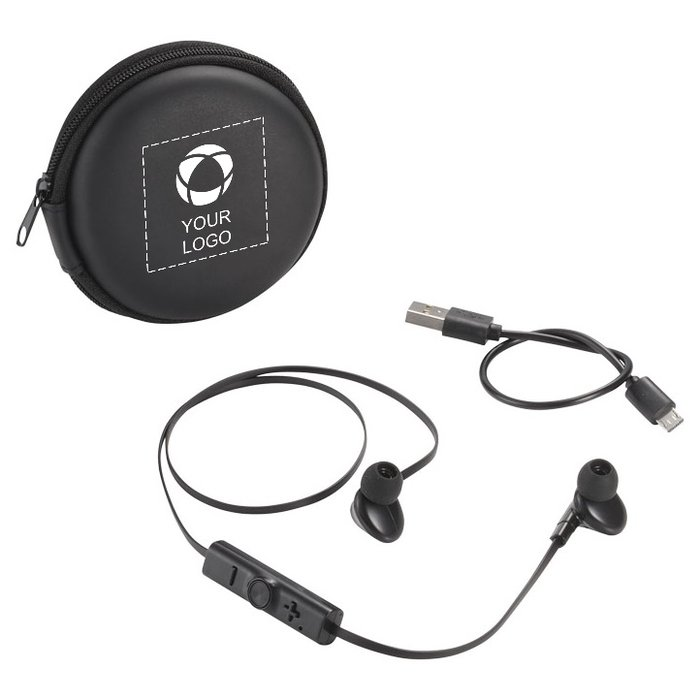 Avenue™ Sonic Bluetooth® Earbuds and Carrying Case