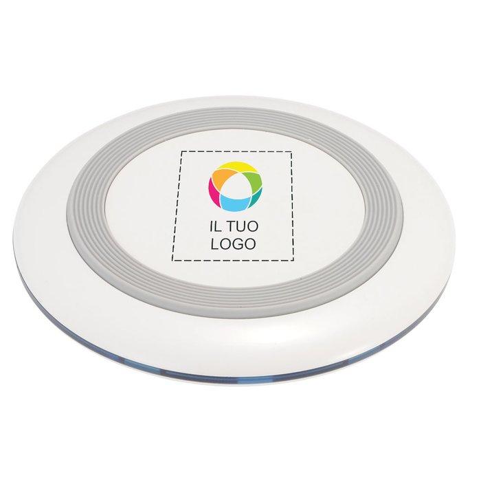 Base di ricarica wireless con stampa a colori Tiz Q Avenue™