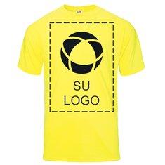 Camiseta Fruit of the Loom® Color Overlay Heavy Cotton HD™ de 5 onzas para niños