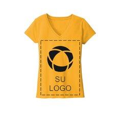 Camiseta Re-Tee® con cuello en V para mujer de District®