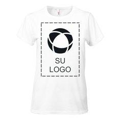 Camiseta de mujer de algodón liviano hilado por anillo de 4.5 onzas de Anvil®