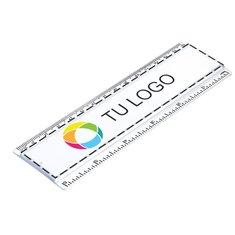 Regla de 15 cm con pieza de inserción impresa a todo color
