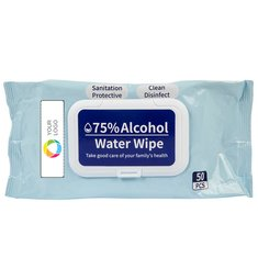 72 packs of 75% Alcohol Wipes – 50 per pack