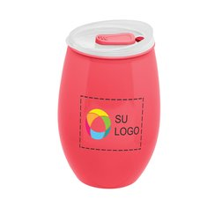 16 onzas Copa de vino de plástico Tritan™ sin tallo a todo color