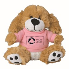 6-Inch Big Paw Dog with Shirt