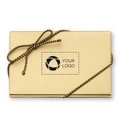 Happy Holidays Chocolate Business Card - Case of 50