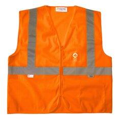 Xtreme Visibility™ Orange ZipMesh Vest