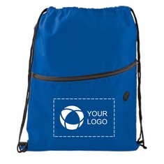 Insulated Zippered Drawstring Sportspack