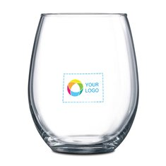 Stemless 2-Piece Red Wine Glass Set