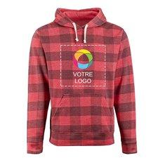 J. America Triblend Hooded Sweatshirt