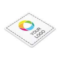 Square Plastic Coaster Full Colour Print