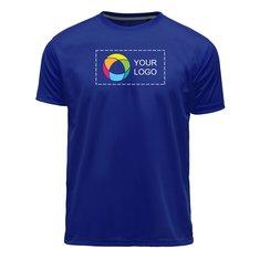 Basic Polyester T-Shirts - Half Chest print