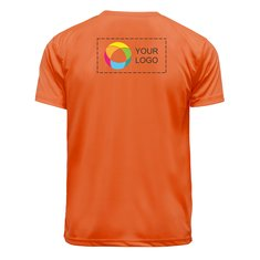 Basic Polyester T-Shirts – Back (Half) Print
