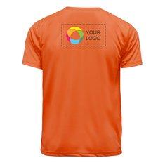 Basic Polyester T-Shirts – Back (Half) Print