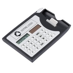 Calculatrice et porte-cartes d'affaires