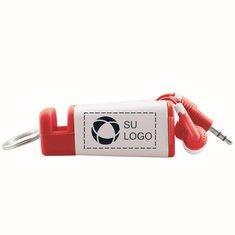 Amplificador de teléfono/llavero/audífonos