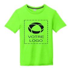 T-shirt enfant sérigraphié Cotton Touch Competitor PosiCharge de Sport-Tek