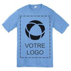 T-shirt sérigraphié pour jeune CompetitorMC PosiChargeMD Sport-TekMD